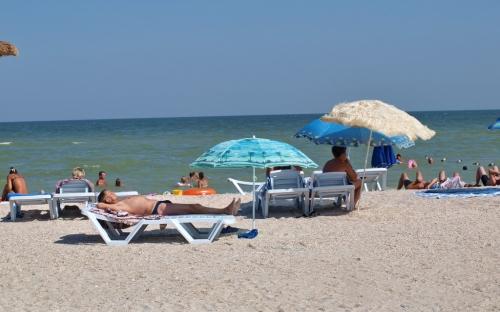 Пляж базы отдыха 1