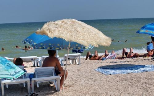 Пляж базы отдыха 2